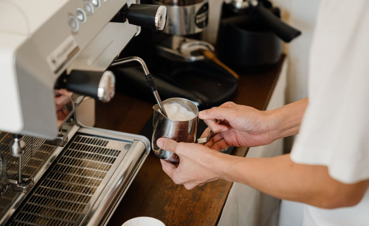 Kaffeemilchsystem